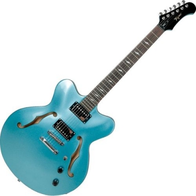 Guitarra Semi Acustica Tagima Seatle Placid Blue com Case