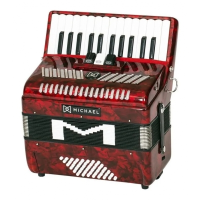 ACORDEON MICHAEL ACM 4803 PRD VERMELHA