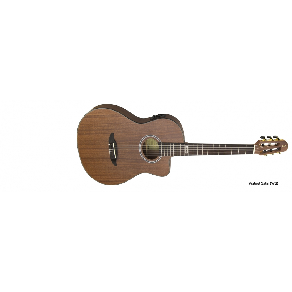 Foto 1 - VIOLAO GIANNINI GNF-3 CEQ WS NYLON WALNUT SATIN PERFORMANCE