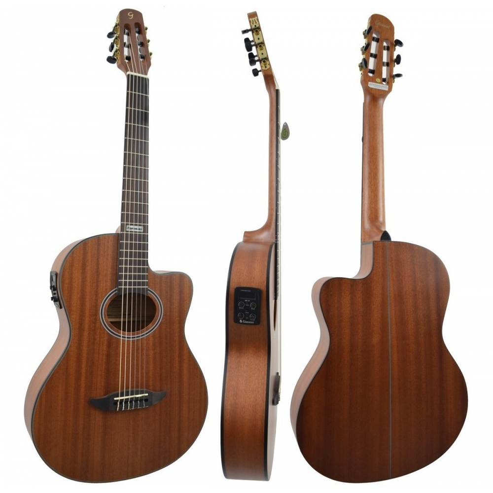 Foto 2 - VIOLAO GIANNINI GNF-3 CEQ WS NYLON WALNUT SATIN PERFORMANCE